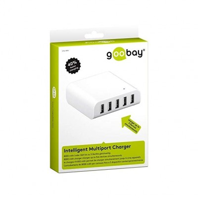Cargador inteligente 8000mAh 5 USB
