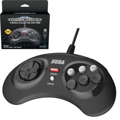 Mando USB PC Sega Megadrive 8 botones