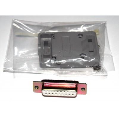 Conector SUB-D 19 hembra + carcasa