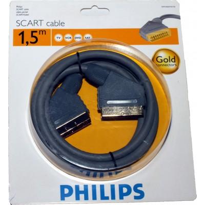 Cable Euroconector macho-macho 1.5m. Philips
