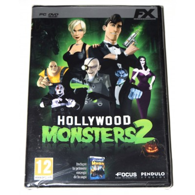Juego PC Hollywood Monsters 2 (incluye Hollywood Monsters 1)