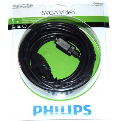 Cable SVGA macho-macho 5m Philips