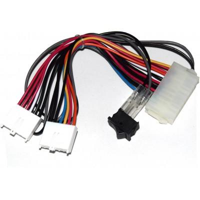 Adaptador fuente PC ATX a AT (con interruptor)