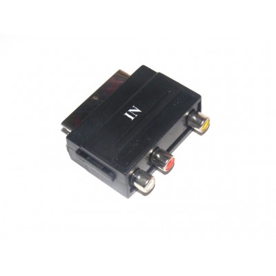 Adaptador RCA a Euroconector SCART