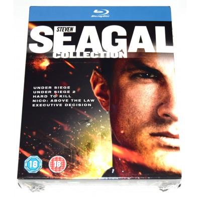 Blu-ray Colección Steven Seagal (Alerta Máxima 1/2, Dificil de Matar, Por Encima de la...