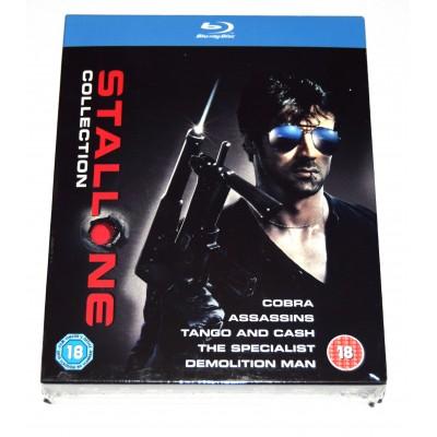 Blu-ray Colección Stallone (Cobra, Tango y Cash, El Especialista, Asesinos, Demolition...