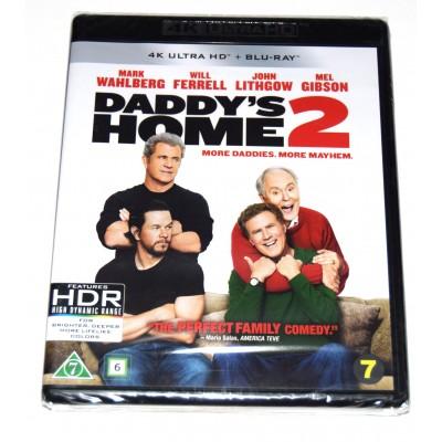 Blu-ray 4K UHD Dos Padres por Desigual (Mark Wahlberg, Will Ferrell)