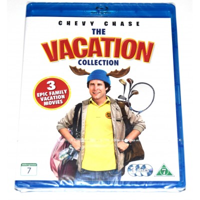 Blu-ray Colección Vacation Chevy Chase