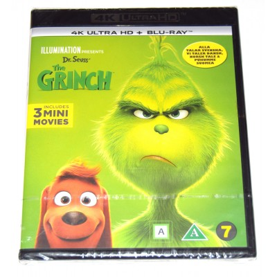 Blu-ray 4K UHD El Grinch 2018