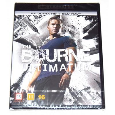 Blu-ray 4K UHD El Ultimátum de Bourne