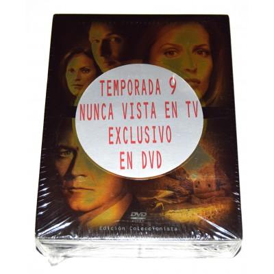 DVD Serie Expediente X Temporada 9 Edición coleccionista