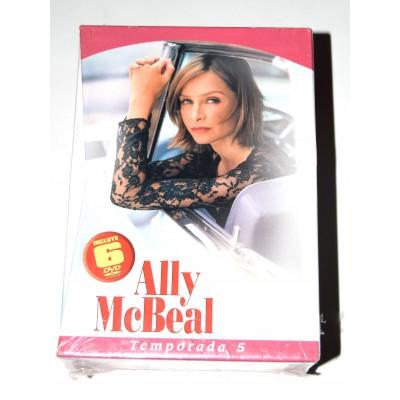 DVD Serie Ally McBeal Temporada 5