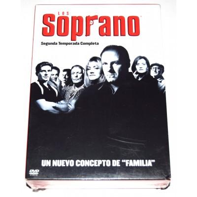 DVD Serie Los Soprano Temporada 2