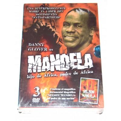 DVD Serie MANDELA Hijo de Africa, Padre de Africa