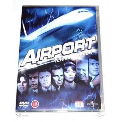 DVD Colección Aeropuerto (Aeropuerto, Aeropuerto 75, Aeropuerto 77, Aeropuerto 79)