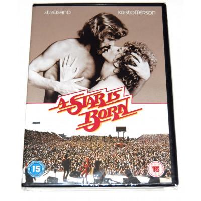 DVD Ha Nacido una Estrella 1976 (Barbra Streisand, Kris Kristofferson)
