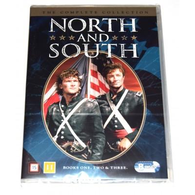 DVD Serie completa Norte y Sur (Patrick Swayze) 3 temporadas