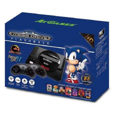 Consola Megadrive Flashback HD con 85 juegos y ranura cartuchos