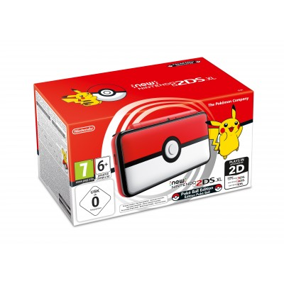Consola Nintendo New 2DS XL Pokéball edition