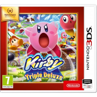 Juego Nintendo 3DS Kirby Triple Deluxe