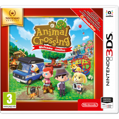 Juego Nintendo 3DS Animal Crossing New Leaf - Welcome amiibo