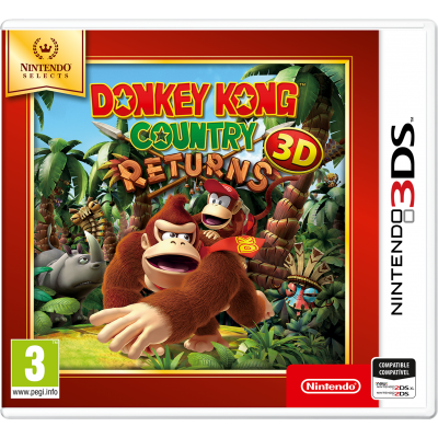 Juego Nintendo 3DS Donkey Kong Country Returns 3D