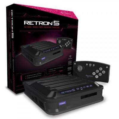 Consola RetroN 5 negra