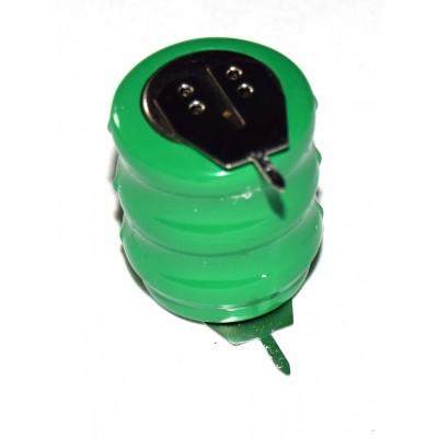 Batería barril NiMh 14H 3.6V 80mAh 2 pines