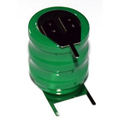 Batería barril NiMh 14H 3.6V 80mAh 3 pines