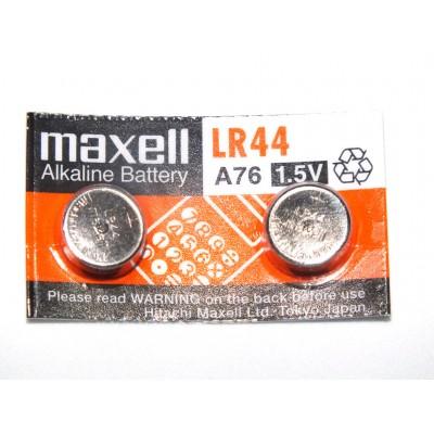 Pack 2 pilas botón LR44