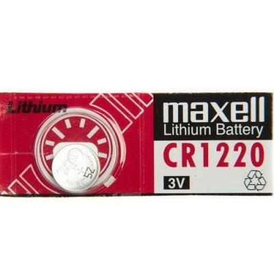 Pila botón litio CR1220
