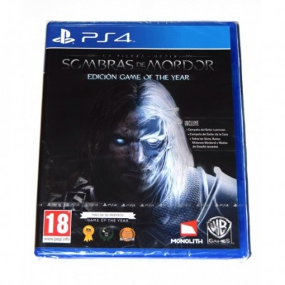 Juego La Tierra Media: Sombras de Mordor Game of the Year PS4