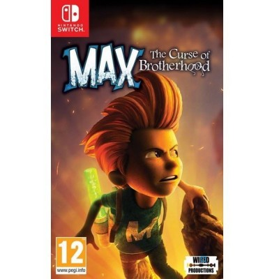 Juego Max The Curse of Brotherhood Switch