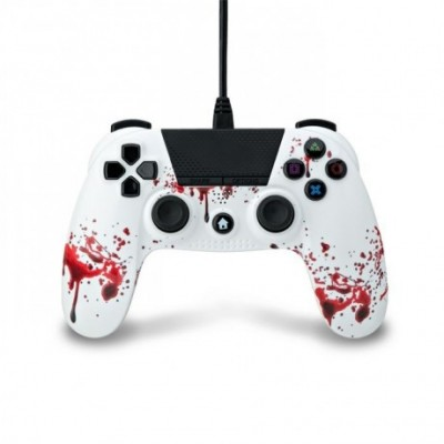 Mando compatible Playstation 4 con cable (zombie)