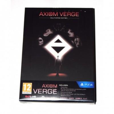 Juego Playstation 4 Axiom Verge Multiverse edition(nuevo)