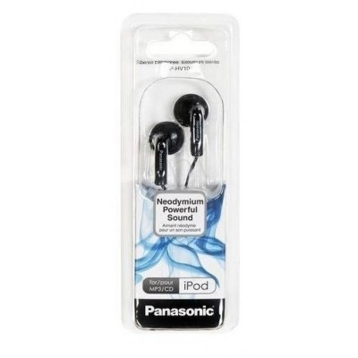 Auriculares botón Panasonic RP-HV104E