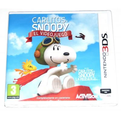 Juego Nintendo 3DS Carlitos y Snoopy