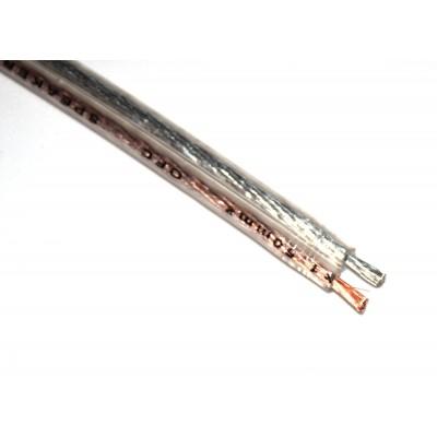 Cable paralelo altavoz transparente 1.5mm2 OFC (a metros)