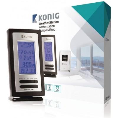 Estación Meteorológica Konig con sensor inalámbrico