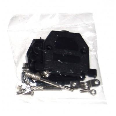 Carcasa SUB-D 25 negra