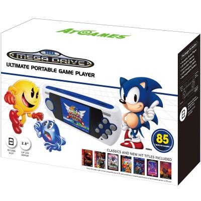 Consola Megadrive Portátil con 85 juegos y SD
