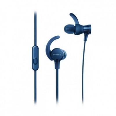 Auriculares deportivos in-ear con micrófono Sony MDR-XB510 azul