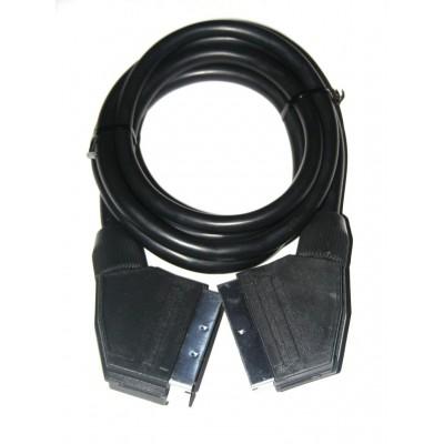 Cable Euroconector macho-macho 1.5m.