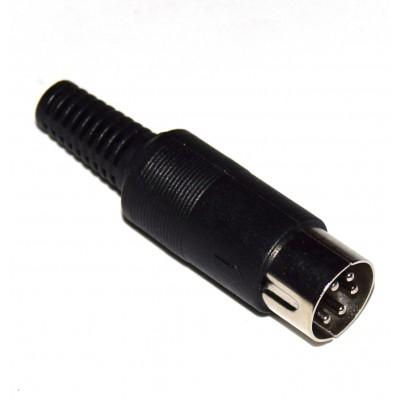 Conector DIN 5 60º macho