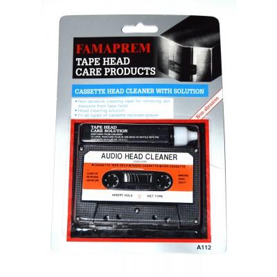 Cinta limpiadora cassette con líquido