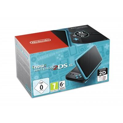 Consola Nintendo New 2DS XL Negro/Turquesa