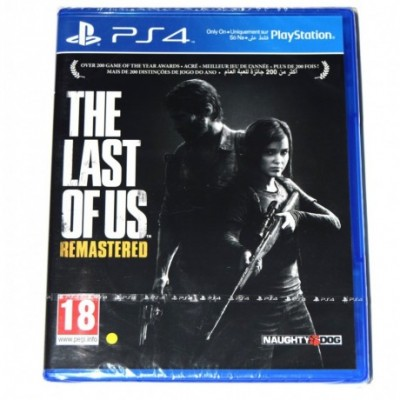Juego Last of Us Remastered PS4