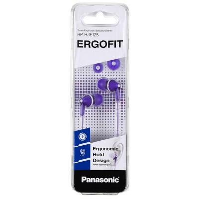 Auriculares In-ear Panasonic RP-HJE125 violeta