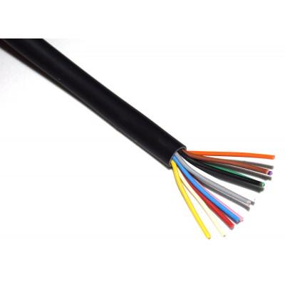 Cable manguera 12x0.20mm2 negro (a metros)